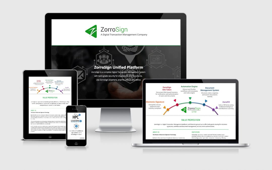 ZorroSign HPC Page
